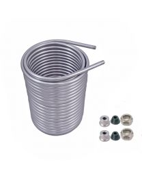 SS304 Cooling Coil- 50' round