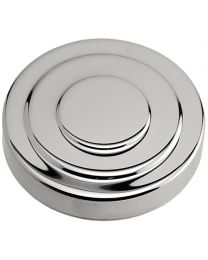 "3"" Tower Cap - Chrome"