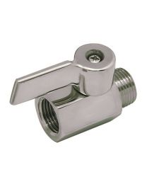 Bev Rite C76MBT Beer Shutoff Valve Stainless Steel-Fixed