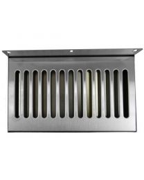 "10""x6"" SS304 Wall Mount Drip Tray, No Drain"