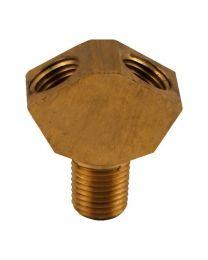 CO2 Y splitter, Brass