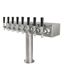 "T  Tower, 3"" Column,Glycol, 4 - 8 Faucets"