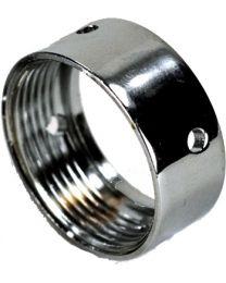 Shank Coupling Nut - Chrome