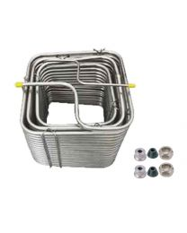 SS304 Cooling Coil- 120' square