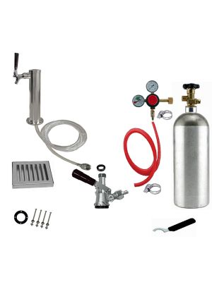 1 Faucet Tower Conversion Kit with 2.5