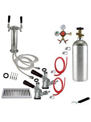 2 Faucet Tower Conversion Kit - 3