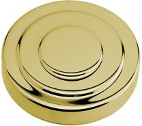 "3"" Tower Cap - Polished Brass"