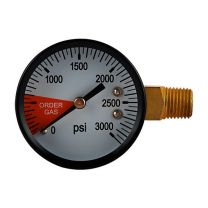 Regulator Replacement Gauge LH, 0 - 3000