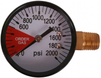 Regulator Replacement Gauge RH, 0-2000