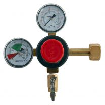 High Performace CO2 Regulator - Double Gauge