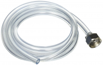 Bev Rite Beer line hose, 5 Feet, Clear, SS304 Contact