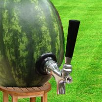 Watermelon / Pumpkin Tap Kit, Self Close Faucet