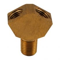 CO2 Y splitter, Brass