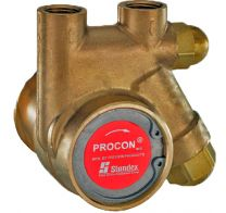 Fluid O Tech Brass Pump w/ Strainer, 100 GPH 250 PSI