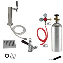 "1 Faucet Tower Conversion Kit - 3"" Tower"