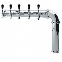 "3"" Brooklyn Pipe L Tower, 4-8 Faucets, Glycol Cooled"