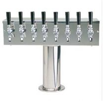 "T Tower, 4"" Column, Glycol , 4-10 Faucets"