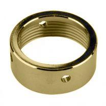 Shank Coupling Nut - Polished Brass