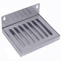 "6""x5"" SS304 Wall Mount Drip Tray, No Drain"