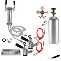 "2 Faucet Tower Conversion Kit - 3"" Tower"