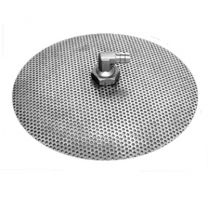 """Stainless Steel False Bottom 10"""" Diameter"""