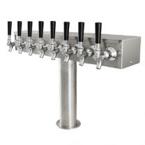 "T  Tower, 3"" Column, Glycol, 4 - 8 Faucets"